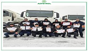 """15 сотрудников компании """"Азпетрол"""" награждены Почетной Грамотой"""